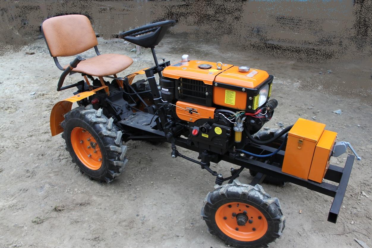 Міні трактор своими руками
